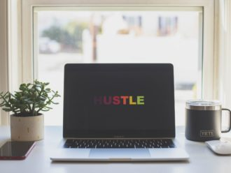 hustle macbook | arcadia brands